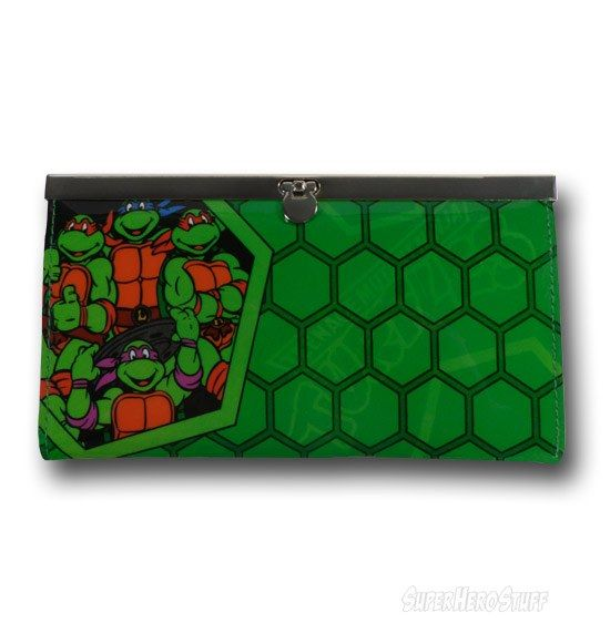 Images of TMNT Shell Ladies' Hinged Wallet