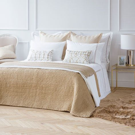 Edred n seda textura edredones cama zara home espa a for Fundas cojines zara home