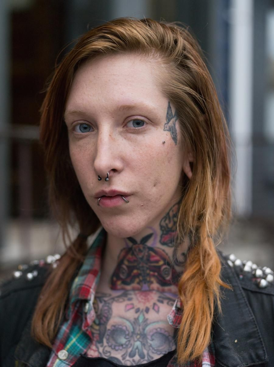 People with Face Tats Explain Their Ink Face tattoos