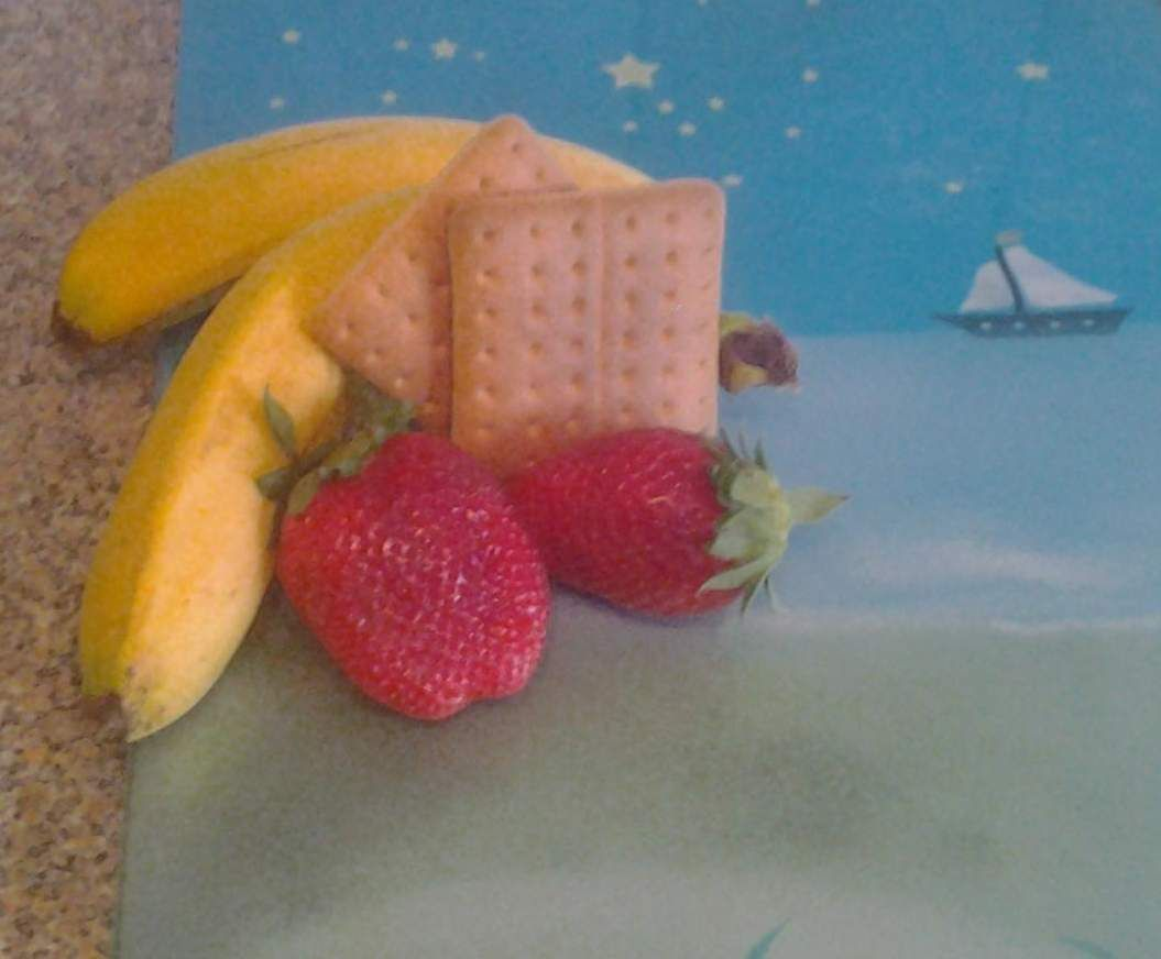Rezept Erdbeere-banane-keks Brei von britta1310 - Rezept der Kategorie Baby-Beikost/Breie