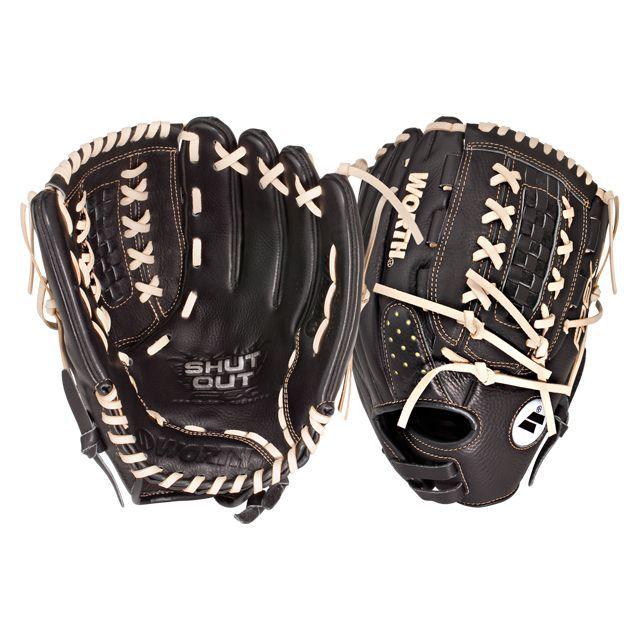 Worth Shut Out Fastpitch Series 12 5 Inch Glove So125x Softball Gloves Fastpitch Softball Gloves Fastpitch