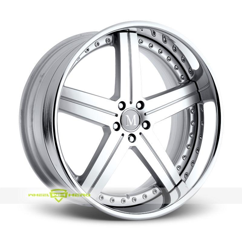 Mandrus Mercedes Stuttgart Silver Wheels For Sale For