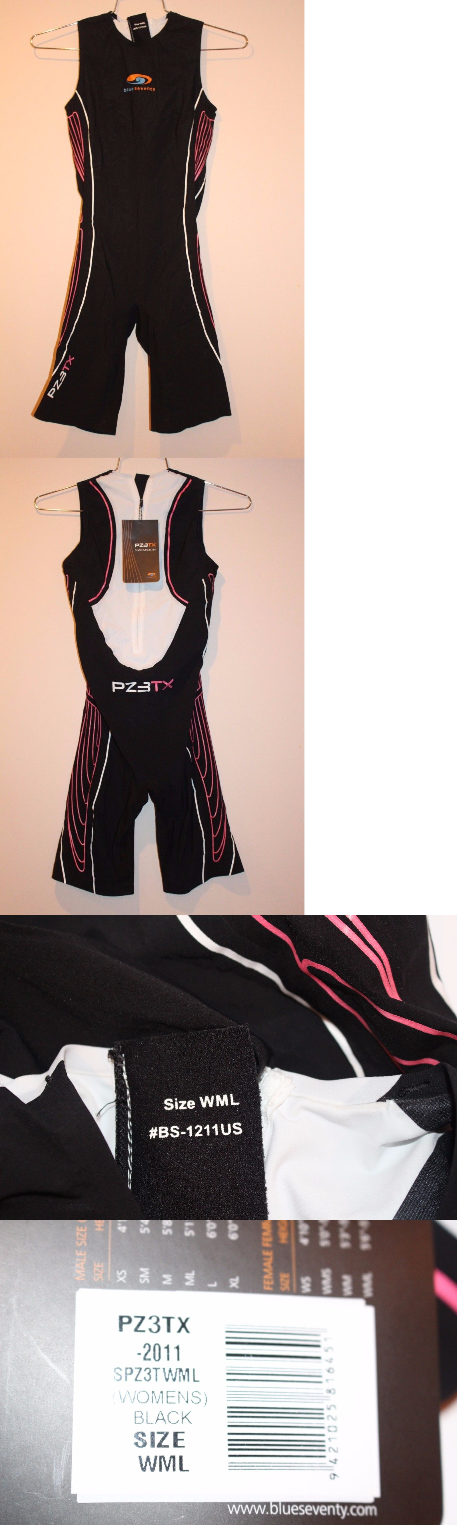 Other Swimming 36269: Blueseventy Pz3tx Swimskin Women S Size Wml Black Pink White Bs-1211Us New -> BUY IT NOW ONLY: $229.99 on eBay!
