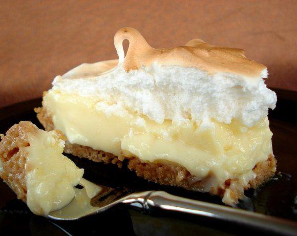 Vanilla Cream Pie/Chocolate/Coconut/Banana Cream Pudding Recipe  - Food.com #sugarcreampie
