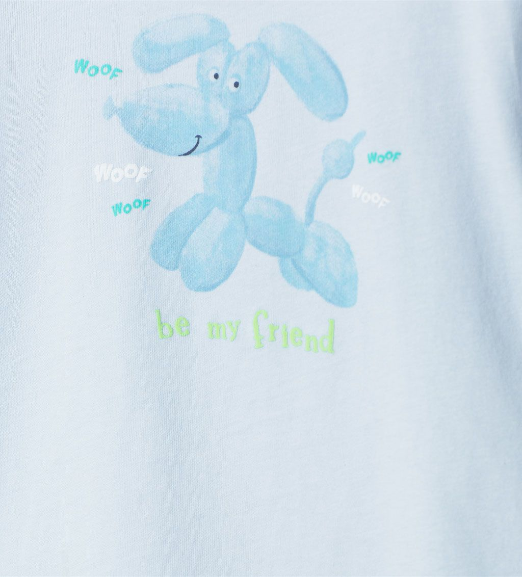 ZARA - KIDS - T-shirt with balloon dog print