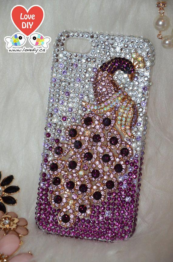 Bling bling iphone case diy kit bling bling iphone case for Homemade iphone case