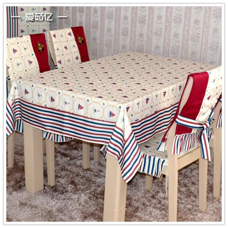 Aegean Cloth Dining Table Chair Cushion Cover Tablecloth Set Online With