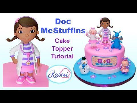 How To Make Doc Mcstuffins Cake Topper Cómo Hacer A La