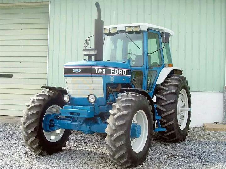 Ford Tw 5 Fwd Ford Tractors Tractors Agriculture Tractor