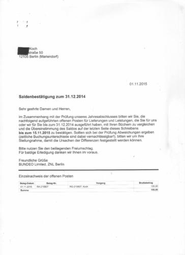 Saldenbestatigung Fur Br Lexware Buchhaltung Pro 2020 In 2020 Buchhaltung Anschreiben Bestatigung