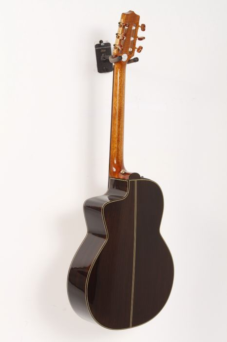 Click Image Above To Buy: Used Takamine Tc135sc Classical 24-fret Cutaway Acoustic-electric Guitar Natural 886830390722
