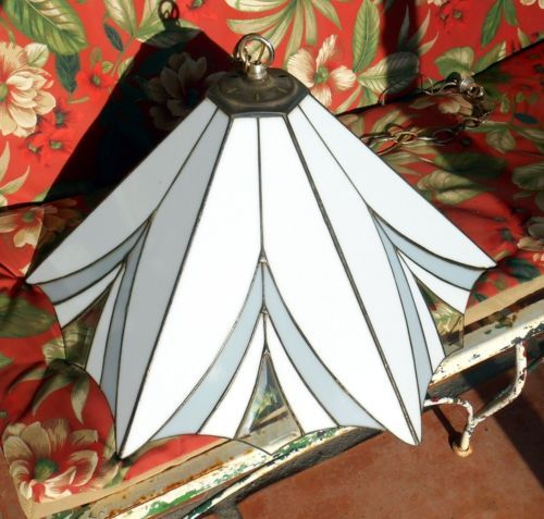 Dale-Tiffany-and-Co-1987-Beveled-Glass-Edges-Tiffany-Victorian-Pendant-Lamp