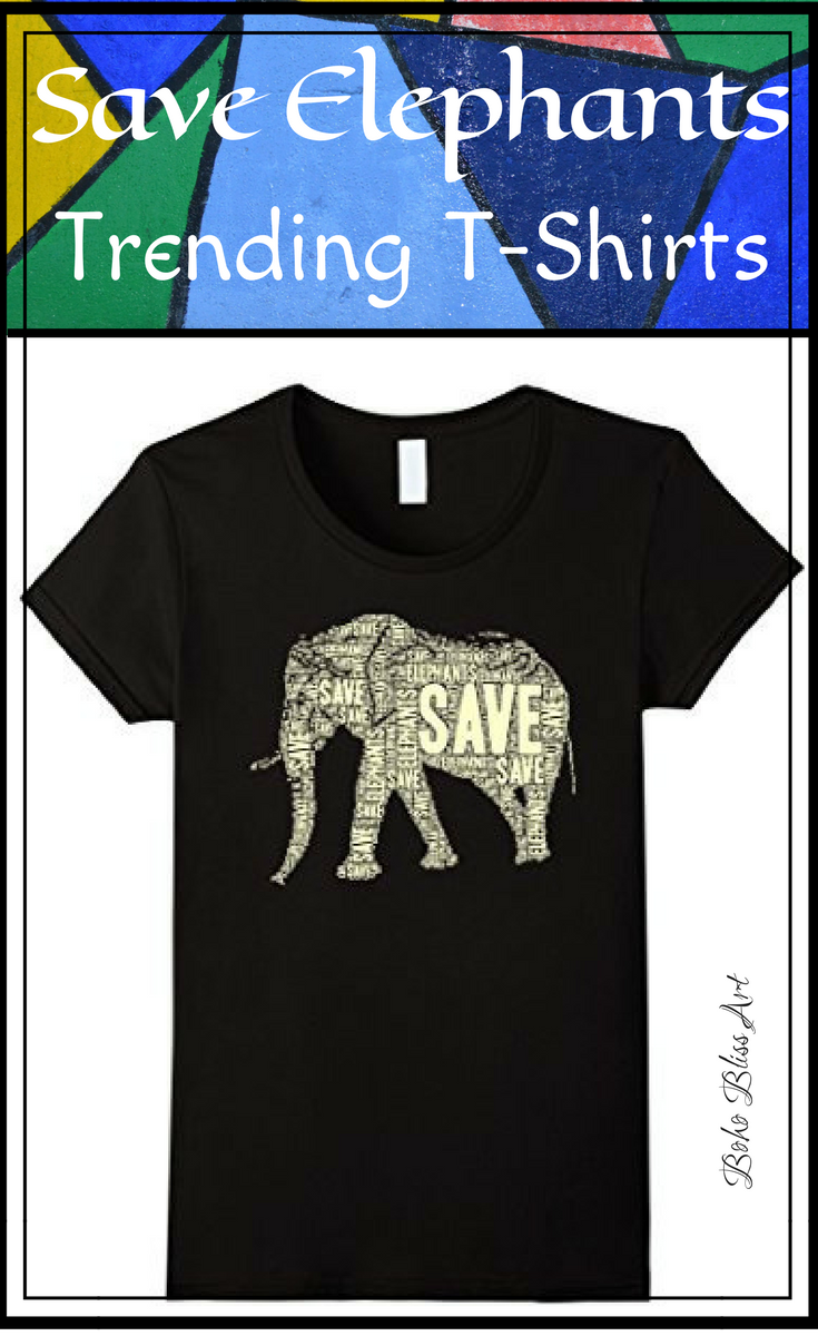 b0f07e9a3 Trending T-Shirts  Save the Elephants T-Shirt