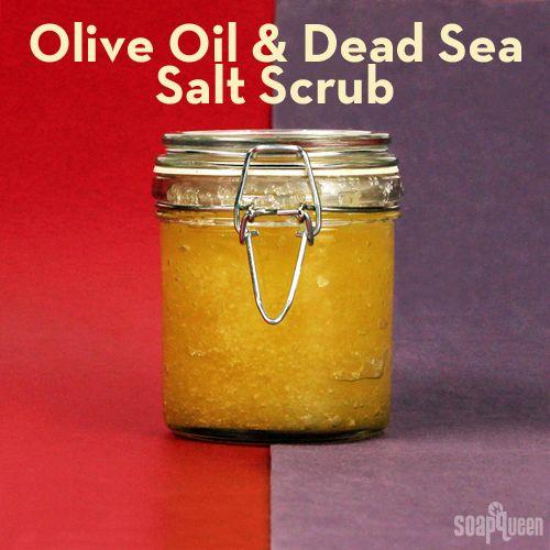 #exfoliante #aceite de oliva #sal de mar