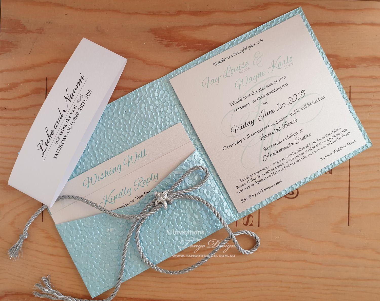 Beach Tropical Wedding Invitation Destination Invites Tying Etsy Beach Wedding Invitations Wedding Invitations Online Wedding Invitations