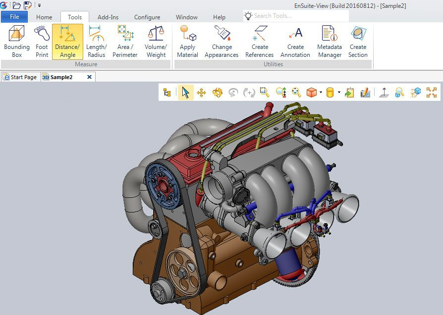 STEP is a Format of Choice in #CCE's #Free Multi-#CAD Viewer