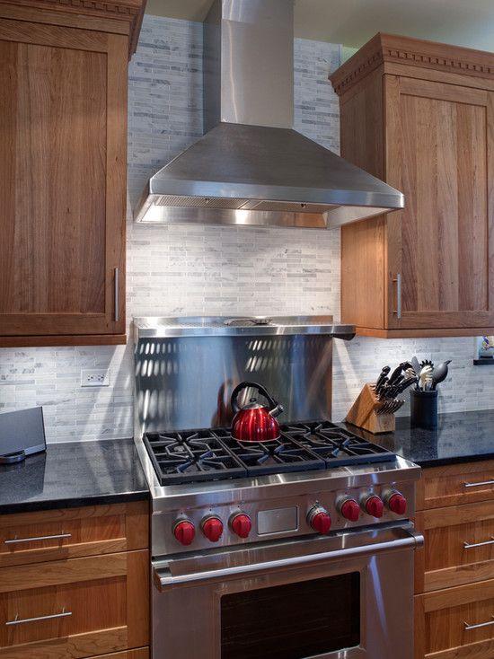Chimney Hood With Stainless Backsplash Shelf Kitchen Remodel Small Kitchen Exhaust Best Kitchen Designs