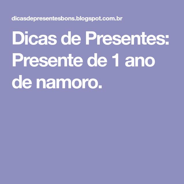 Dicas De Presentes Presente De 1 Ano De Namoro Bel Love