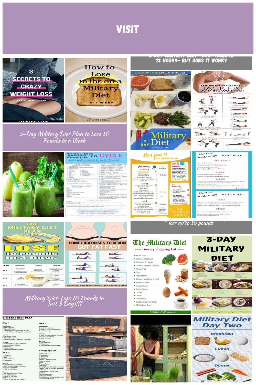 3day military diet menu to lose 10 lbs in a week
