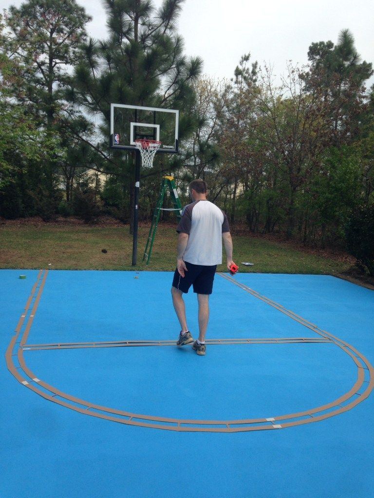 Diy Basketball Court Outdoor Basketball Court Basketball Court Home Basketball Court