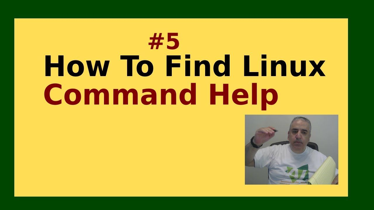 22 How To Access Command Help In Linux
