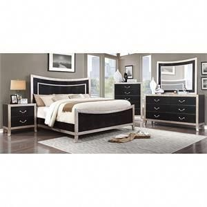 Outstanding Furniture Of America Liza 4 Piece Bedroom Set City Home Interior And Landscaping Ologienasavecom