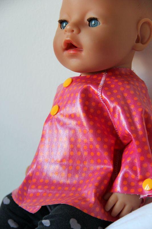 regenmantel f r die puppe raincoat for dolls diy puppenkleidung. Black Bedroom Furniture Sets. Home Design Ideas