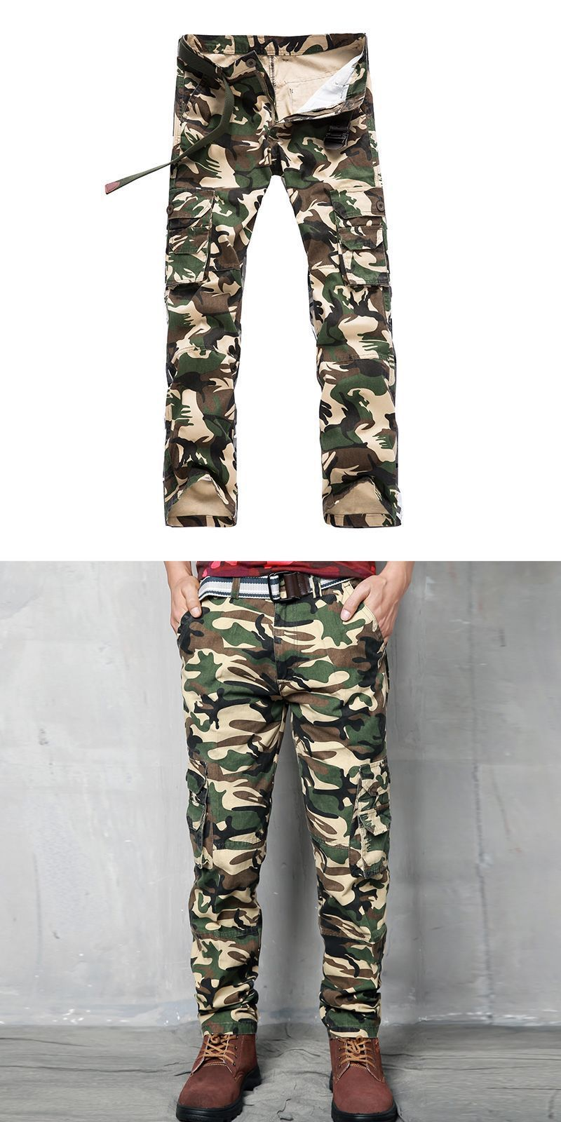 1a93d732c Man casual outdoor style camouflage long trousers mens open bottom sweat  pants #champion #men's