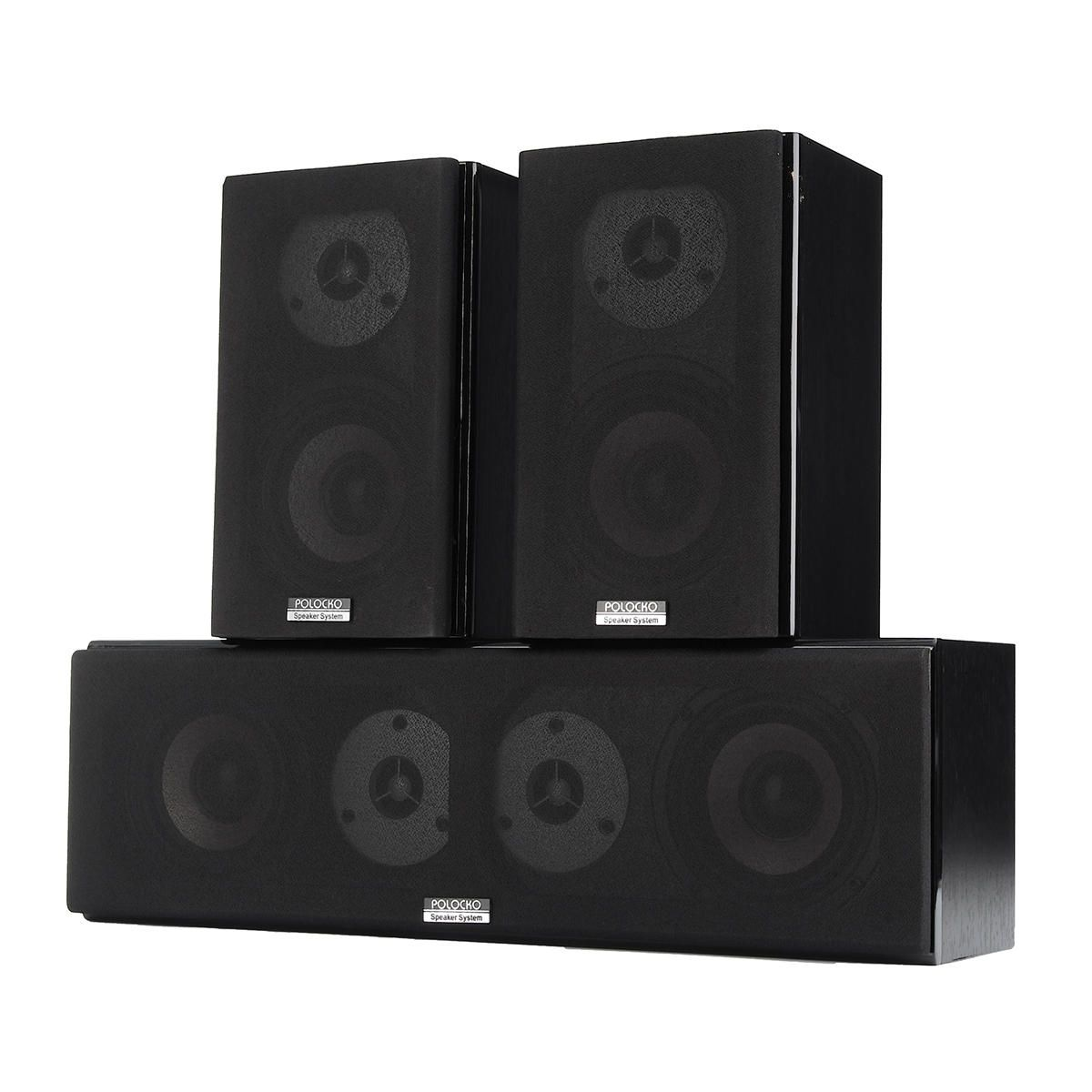 Us 159 99 100w 4 Inch Hifi Double Treble Center Channel Passive Home Audio Speaker Theatre System Home Audio Video From Electronics On Banggood Com