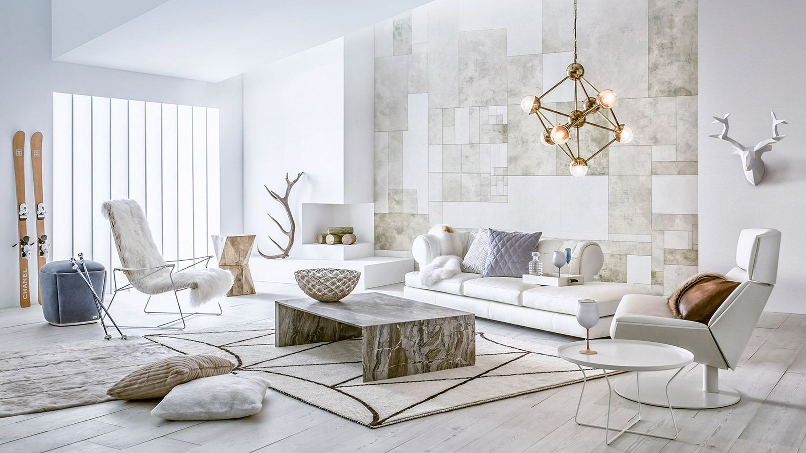 The Winter S Tale Living Room Design Modern Interior Design