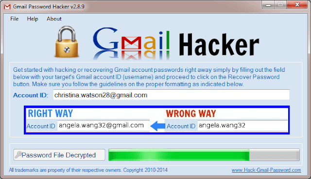 gmail hacking software free download for pc