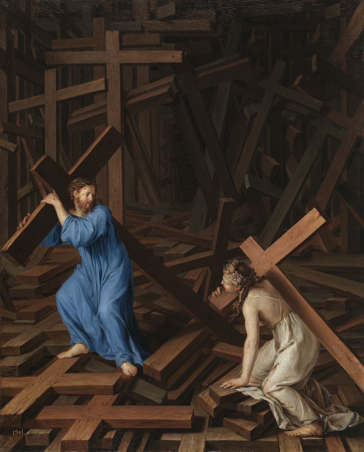 Image result for take up your cross and follow me, art, pictures