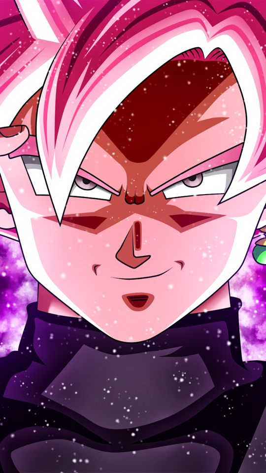 Black Goku Rosé ブラコ ゴク ロゼ Wallpaper (HD) Dragon Ball