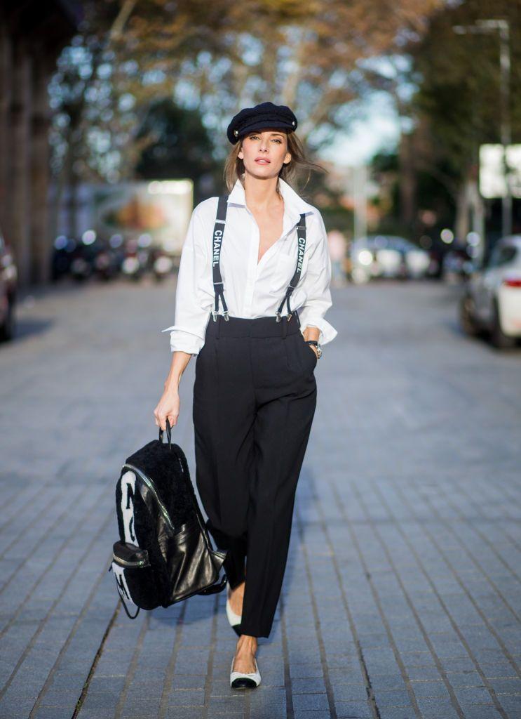 Cómo Llevar La Camisa Blanca Moda Andrógina Moda De Ropa Ropa De Moda