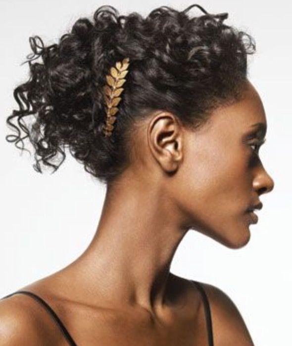 Hair accessory ideas for natural hair. Love this!