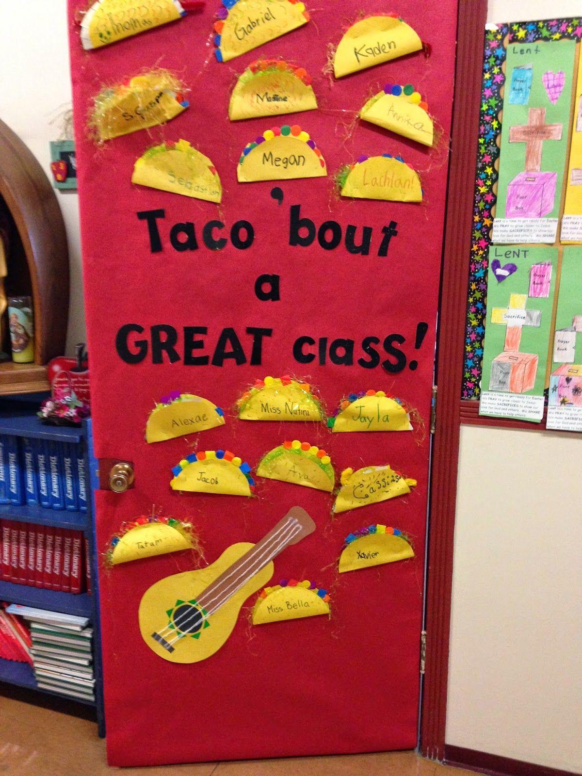 Fiesta Door Decoration Ideas