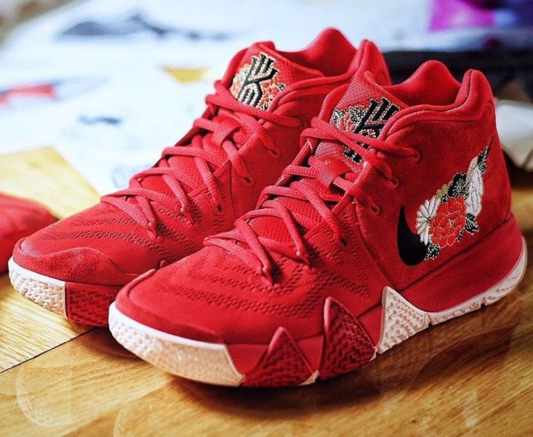 """los angeles 0938e cf6dc Nike Kyrie 4 """"FireWorks"""" Chinese New Year edition"""