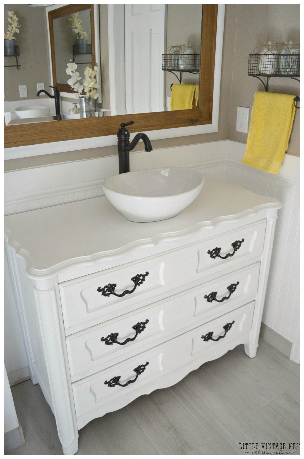 15 Extraordinary Used Bathroom Vanity For Sale Image In 2020 Badezimmer Kommode Shabby Chic Badezimmer Kommode Zum Waschtisch