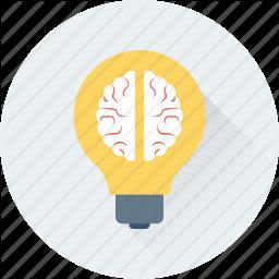 Brain Bulb Creative Mind Creativity Idea Icon Digital Marketing Marketing Seo Marketing