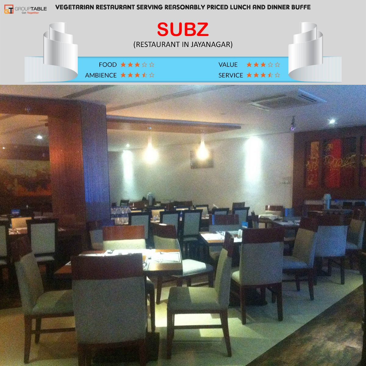 Subz Restaurant Bangalore Veg Restaurant Serving Reasonably Priced Lunch And Dinner Buffet Book A Vegetarian Restaurant Veg Restaurant Restaurant