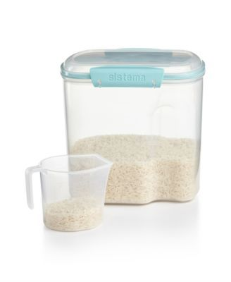Martha Stewart Collection Storage Container, 81 Oz. with Measuring ...