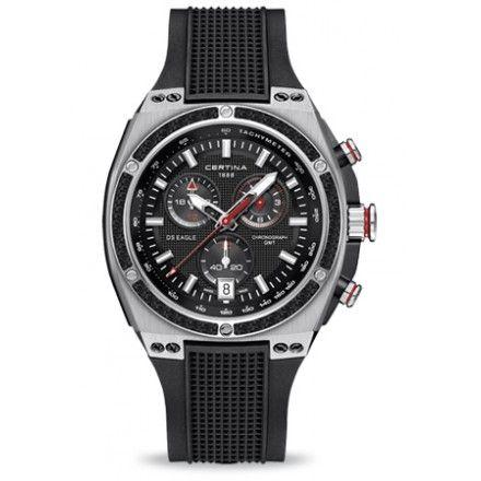 El #Certina DS Eagle GMT es ideal para el hombre aventurero, para el deportista, para el crack de los negocios, .... es perfecto para ti.  http://goo.gl/IApSWL