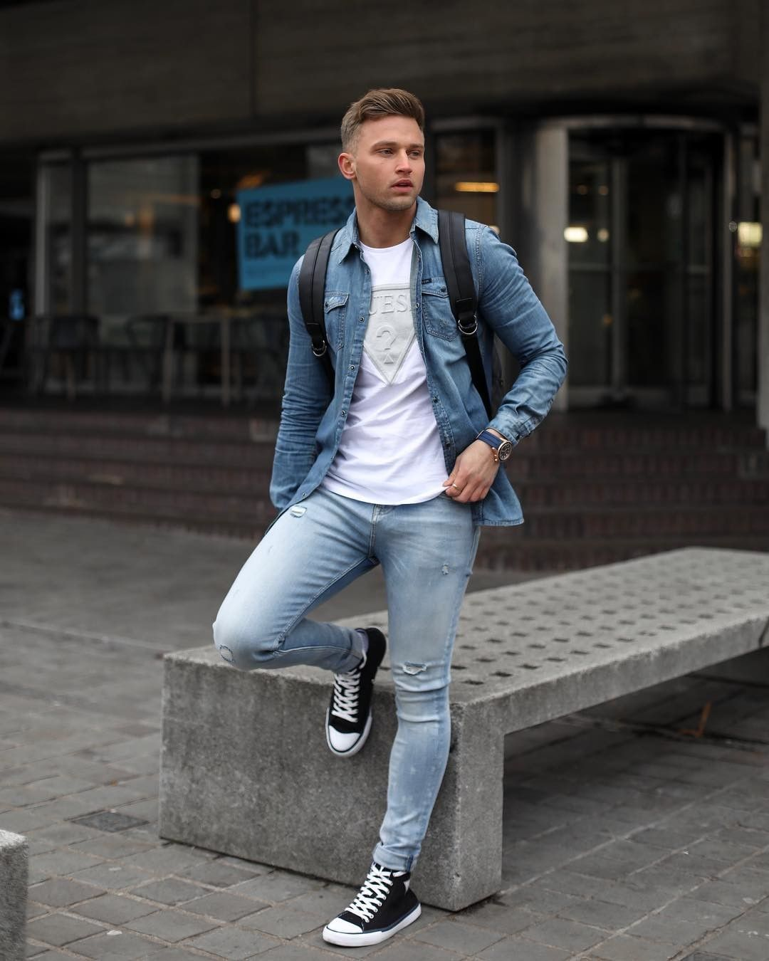 Carl Cunard On Instagram I Guess Its A Double Denim Day