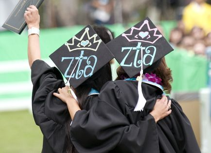 Might do this for graduation :) ZTA <3