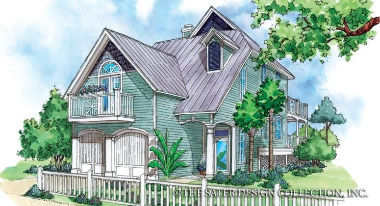 A Modern Cottage Country Style House Plans Cottage House Plans Key West Cottage
