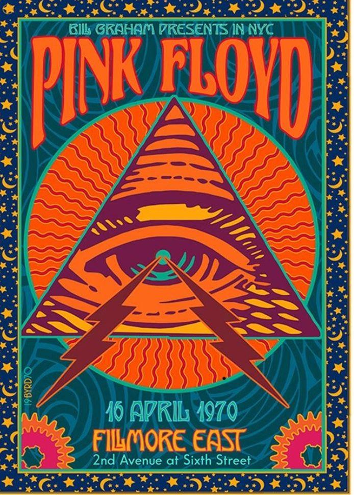 Pink Floyd 1970 in 2019 Vintage music posters, Pink
