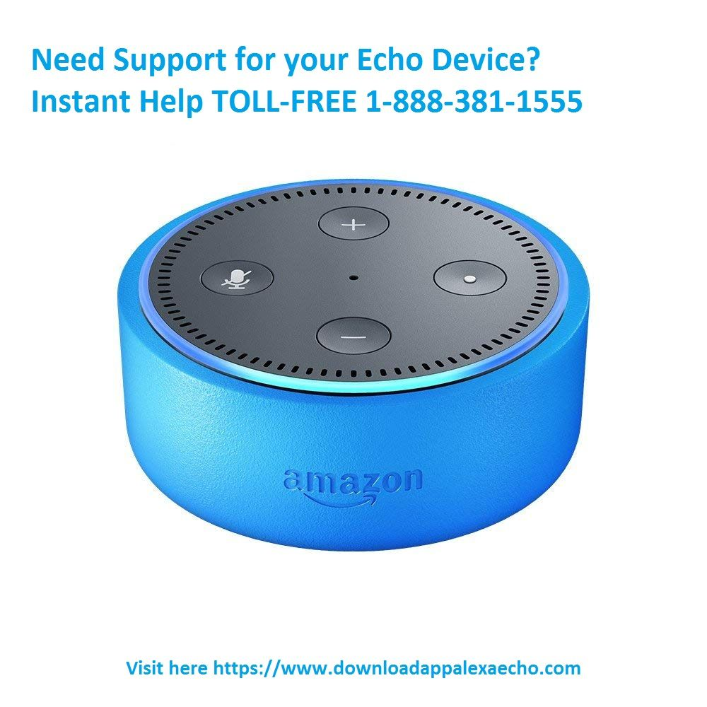 Read the instructions on how to download Alexa app, echo