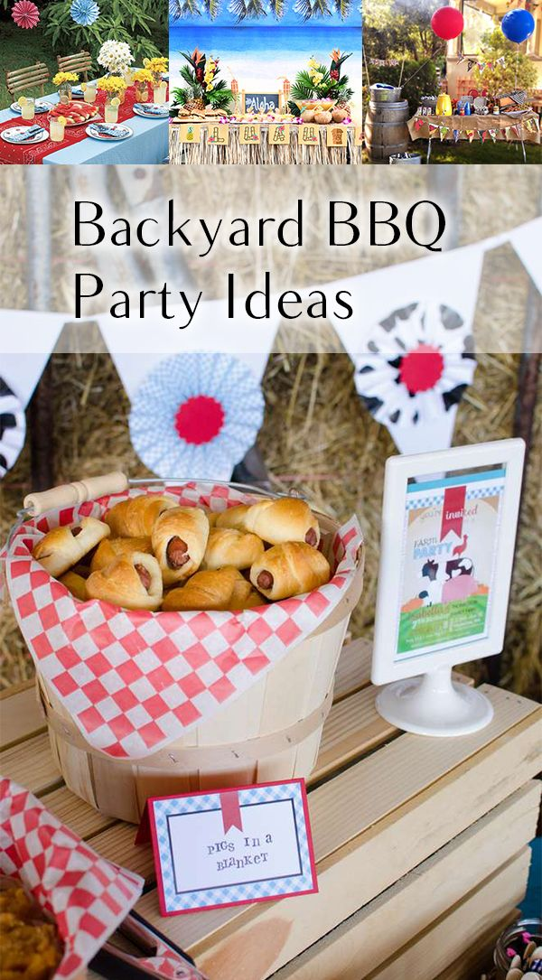 Fun Backyard Party Ideas Decor And Themes Bbq Garden Birthdays