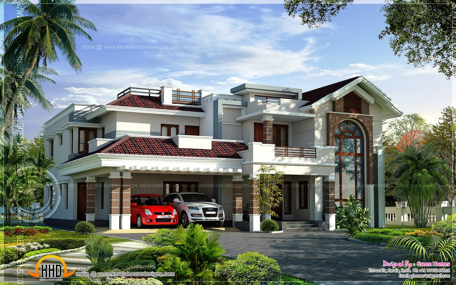 A Selection Of The Most Beautiful Houses Oliveraie Prestige On The French Riviera House Luxury Luxury Ho Kerala House Design My House Plans Modern Mansion