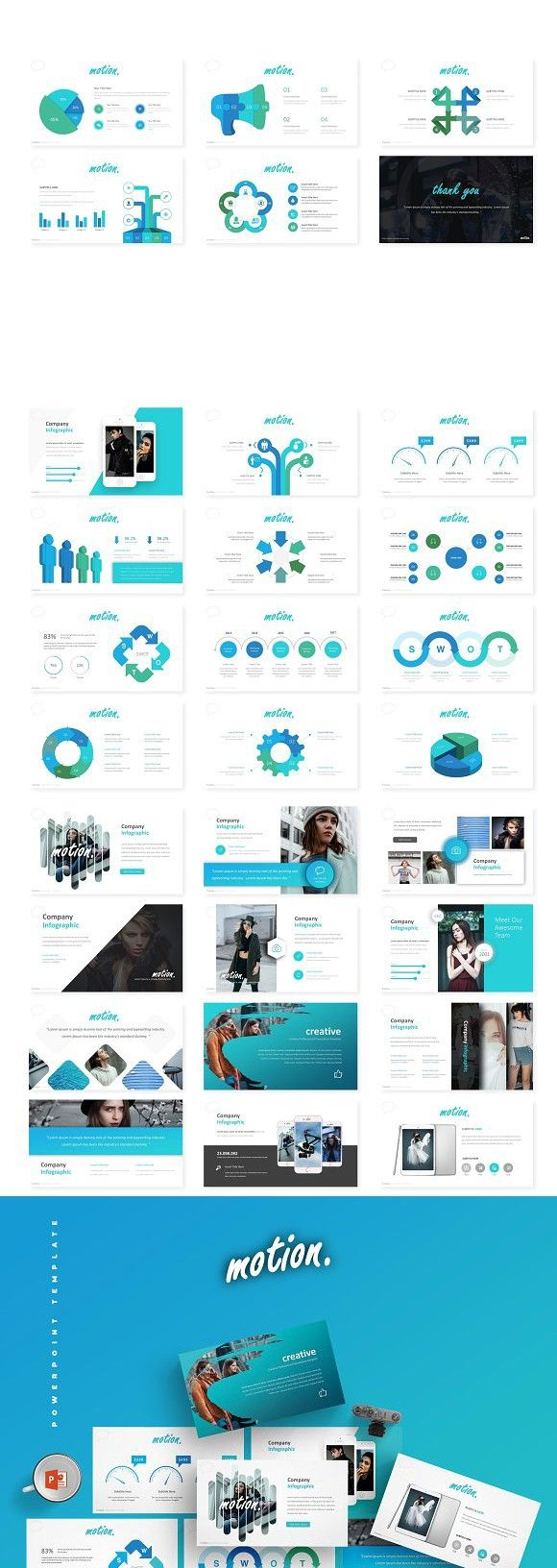 Motion Powerpoint Template Ppt Pinterest Template And
